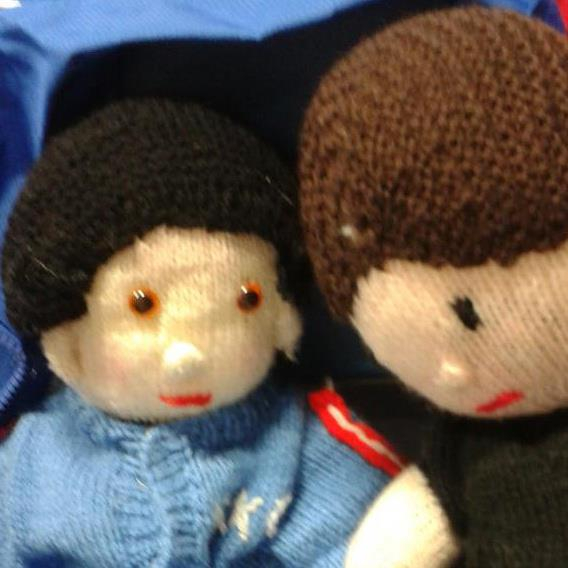 our mascots made by the club nana:)